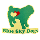 Blue Sky Dogs ロゴステッカー